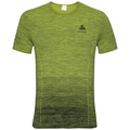 BL TOP Crew neck s/s SEAMLESS KAMILERO X, acid lime, large