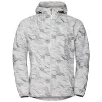 Jacket FLI 2.5L, odlo silver grey - paper print, large