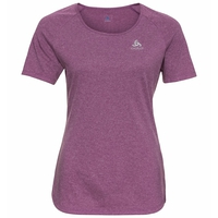 Damen MILLENNIUM ELEMENT PRINT T-Shirt, hyacinth violet melange, large