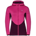 Women's SPOOR Midlayer Hoody, pickled beet, large