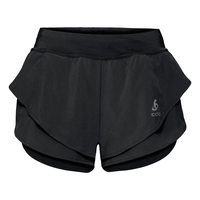 OMNIUS LIGHT Split Shorts, black, large