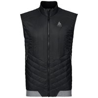 Gilet zippé COCOON S, black, large