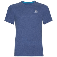 BL Top Crew neck s/s AION PLAIN, sodalite blue melange, large