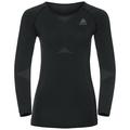 EVOLUTION LIGHT Baselayer Shirt Damen, black - odlo graphite grey, large