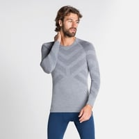 Men's NATURAL + KINSHIP WARM Long-Sleeve Baselayer, grey melange, large