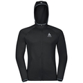 Hoody midlayer full zip PULSE, black, large