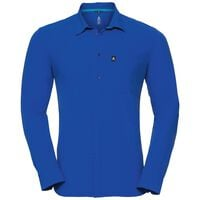 Shirt l/s SAIKAI COOL, energy blue, large