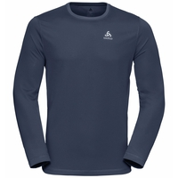 T-shirt l/s crew neck ALVIN LO, navy new, large