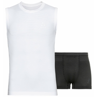 Ensemble de sous-vêtements PERFORMANCE LIGHT pour homme, white - black, large