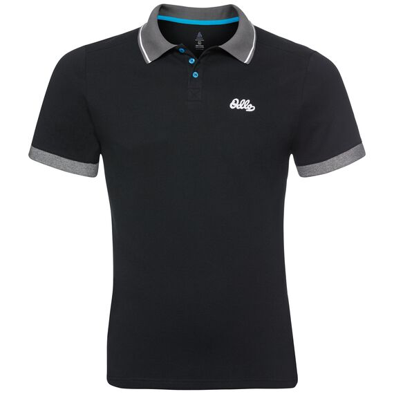 Polo s/s NIKKO, black, large