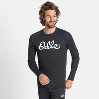 Men's ACTIVE WARM ORIGINALS ECO Long-Sleeve Baselayer Top, dark grey melange, large