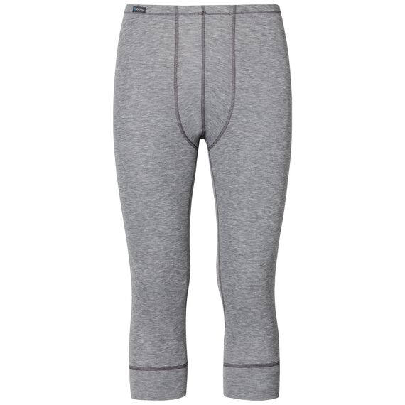 Pants 3/4 ACTIVE ORIGINALS Warm, grey melange, large