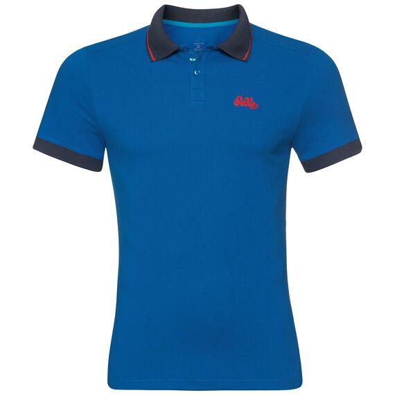 Polo s/s NIKKO, energy blue, large