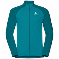 Men's ZEROWEIGHT WARM HYBRID Running Jacket, tumultuous sea, large