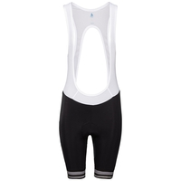 Women's ZEROWEIGHT Cycling Bib Shorts, black, large