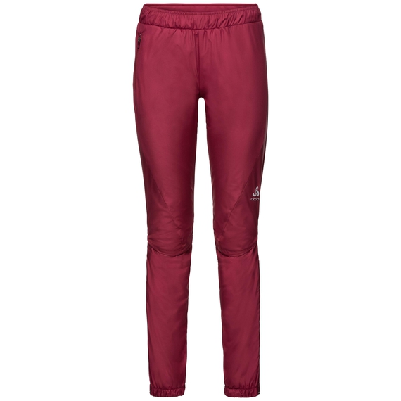 Pants MILES Light, rumba red, large