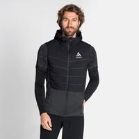 Gilet de running à capuche MILLENNIUM S-THERMIC pour homme, black, large