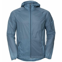 Men's FLI DUAL DRY WATER RESISTANT Hiking Jacket, china blue, large