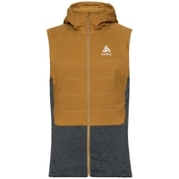 Gilet à capuche MILLENNIUM S-THERMIC pour homme, golden brown - black, large