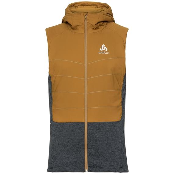Men's MILLENNIUM S-THERMIC Vest, golden brown - black, large
