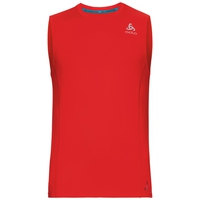 BL Top Crew neck s/l CERAMICOOL pro, fiery red, large