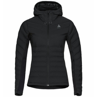 Women's SARA COCOON Insulated Jacket, black, large
