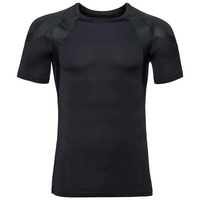 Men's ACTIVE SPINE LIGHT Base Layer Top, black, large