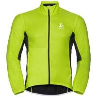 Men's ZEROWEIGHT Cycling Jacket, acid lime - black, large