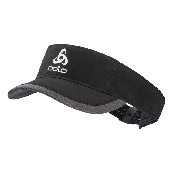 Visor cap CERAMICOOL LIGHT, black, large