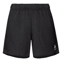 Short MILLENNIUM da donna, black melange, large