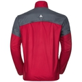 Jacket GOD JUL, jester red - ombre blue, large