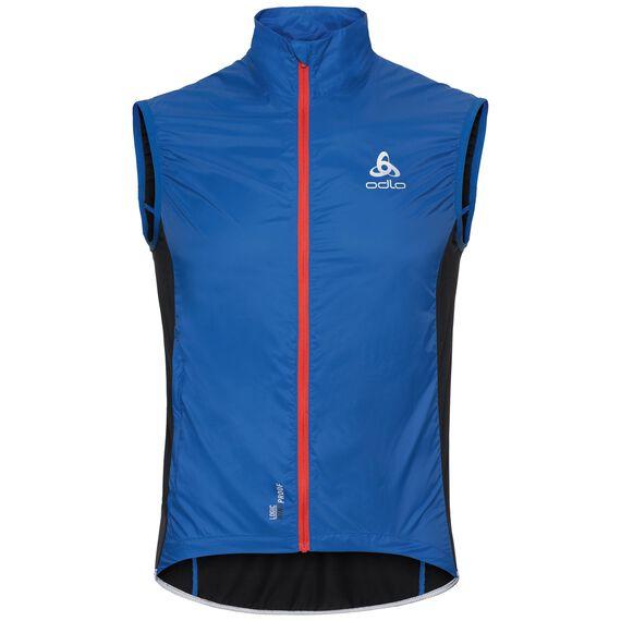 Vest FUJIN, energy blue - black, large