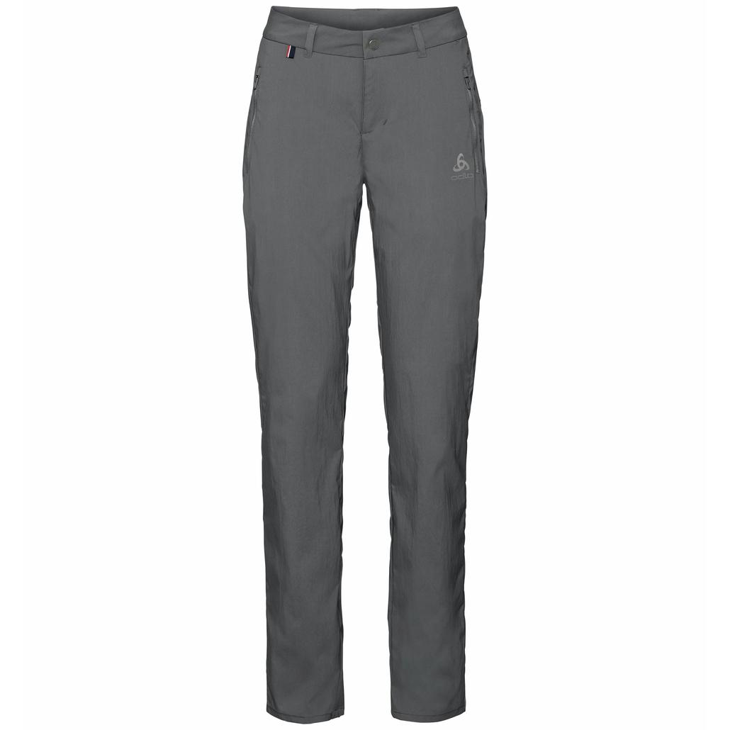 Women's CONVERSION Pants, odlo graphite grey, large
