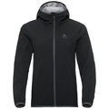 Jacket softshell 3L VISION LO, black, large