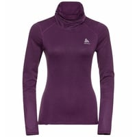 Women's ACTIVE THERMIC Turtleneck Baselayer, charisma melange, large