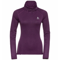 Damen ACTIVE THERMIC Baselayer-Top mit Rollkragen, charisma melange, large