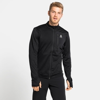 Men's BLAZE CERAMIWARM PRO Midlayer, black melange, large