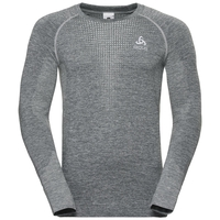 Men's IRBIS WARM Midlayer Hoody, odlo silver grey - odlo steel grey, large