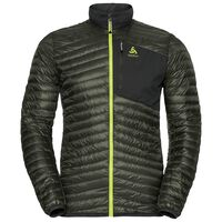 HELIUM COCOON Midlayer men, climbing ivy - odlo graphite grey, large