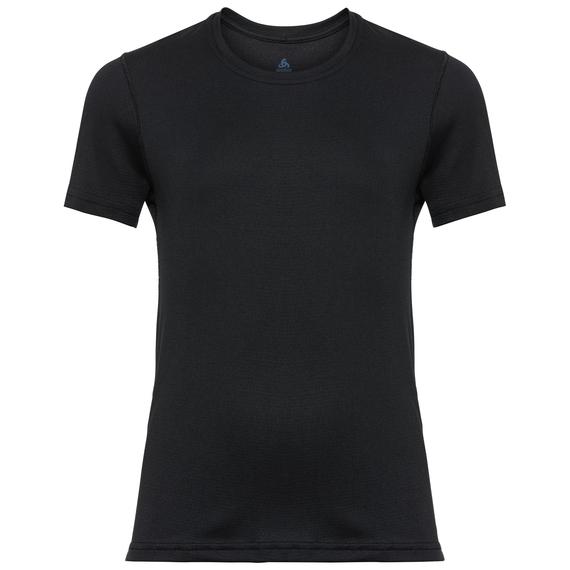 BOYS CERAMICOOL Baselayer T-Shirt, black, large