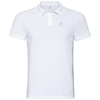 Men's NEW TRIM Polo Shirt, white, large
