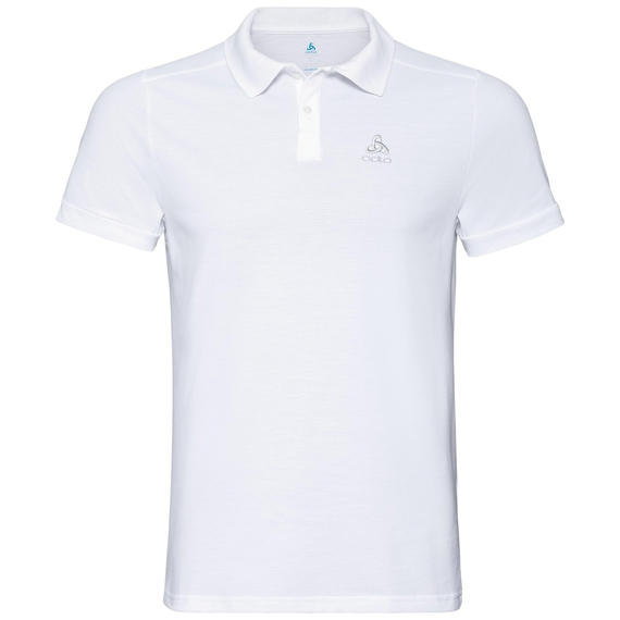 NEW TRIM Poloshirt, white, large
