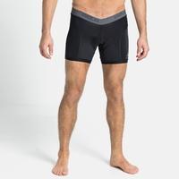 Men's BREATHE Cycling Sports Underwear Boxer Bottoms, black, large