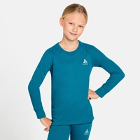 ACTIVE WARM ECO KIDS Long-Sleeve Baselayer Top, tumultuous sea, large