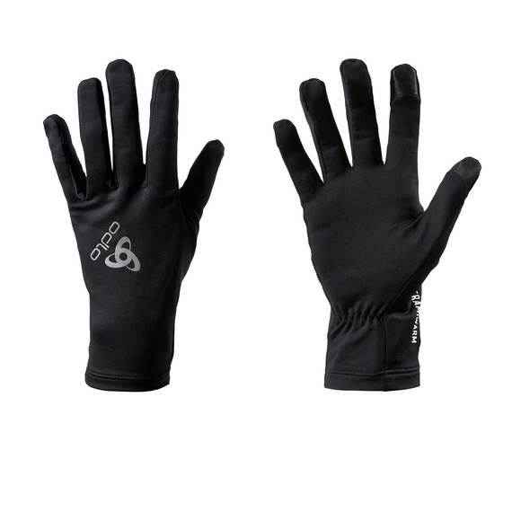 Gloves CERAMIWARM Light, black, large