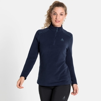 Women's LE TOUR 1/2 Zip Midlayer, diving navy, large