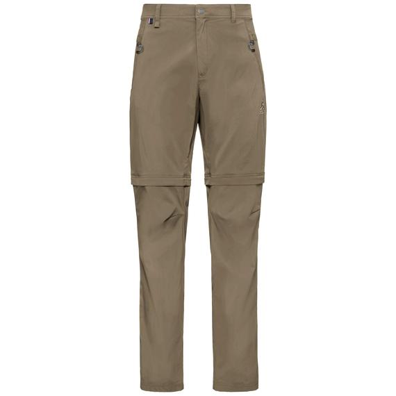 Pants zip-off WEDGEMOUNT, lead gray, large