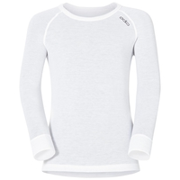 ACTIVE WARM KIDS Long-Sleeve Baselayer Top, white, large