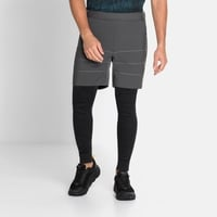 Herren MILLENNIUM S-THERMIC Shorts, odlo graphite grey, large