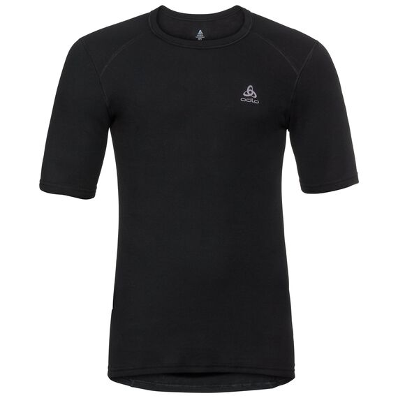 Shirt s/s crew neck ACTIVE ORIGINALS Warm, black, large